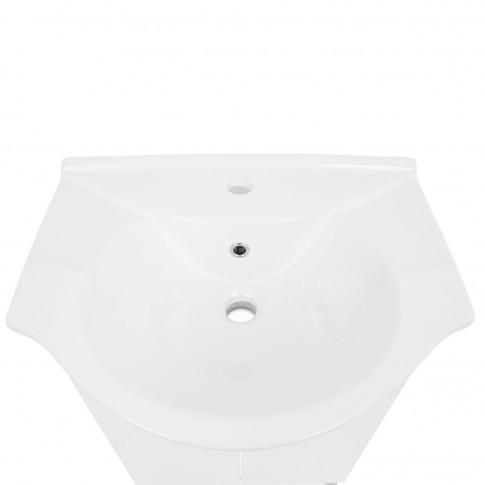 Masca baie + lavoar Savini Due 902, cu usi, alb, 86 x 56 x 42.5 cm