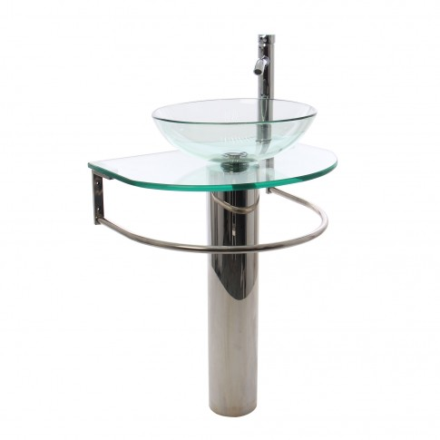Mobilier din sticla, 1014, 60 x 45 cm