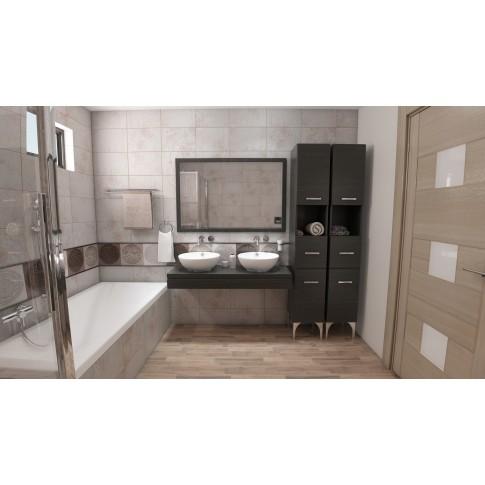 Baterie baie pentru lavoar, incastrata, Kludi Bozz 382440576, montaj incastrat, monocomanda, finisaj cromat