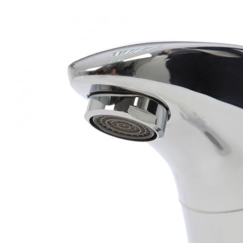 Baterie baie pentru lavoar, cu senzor, SaniTex 7014, montaj stativ, actionare cu senzor, finisaj cromat