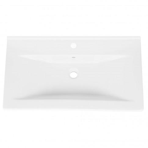 Lavoar Arthema Neo 0080M-A, alb, dreptunghiular, 80 cm