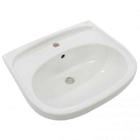 Lavoar Kadda WF106155001, alb, rotunjit, 55 cm