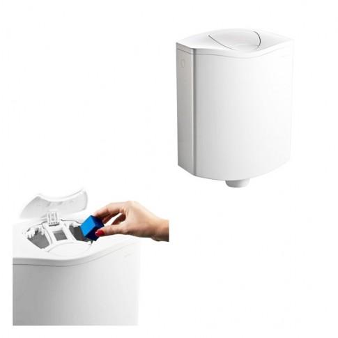 Rezervor WC semi - inaltime Geberit AP 116 Plus, actionare dubla, 3 / 6 L, 35 x 43 x 13.5 cm