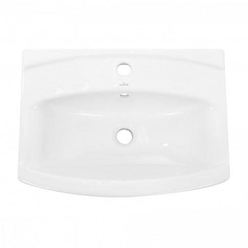 Lavoar Cersanit Cersania K11 - 0046, alb, dreptunghiular, 60 cm