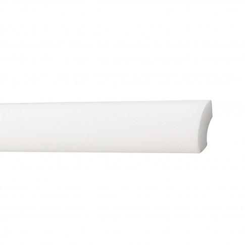 Bagheta decorativa polistiren C10-20, modern, alba, 200 x 2 x 2 cm