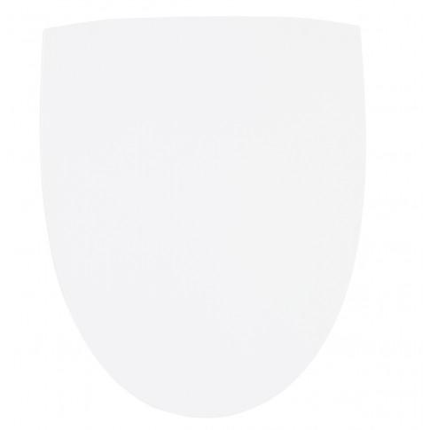 Capac WC din ABS, Jazz 51234, alb, inchidere standard, 350 x 460 mm