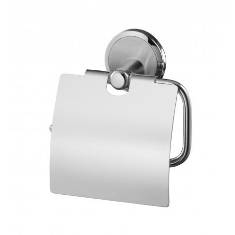 Suport pentru hartie igienica, Bisk Sensation 03090, cu clapeta, cromat