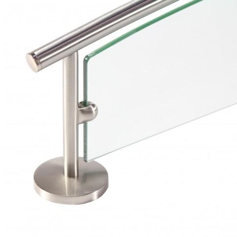 Etajera pentru baie din sticla Kadda Pinto 41851, 59.5 x 16 cm