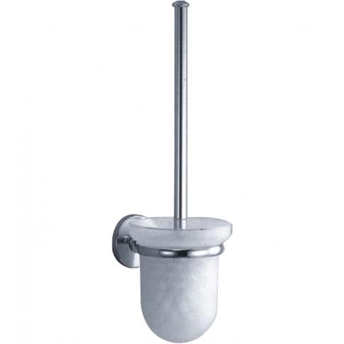 Perie WC Kadda Pinto 41890, suspendat, metal + sticla mata