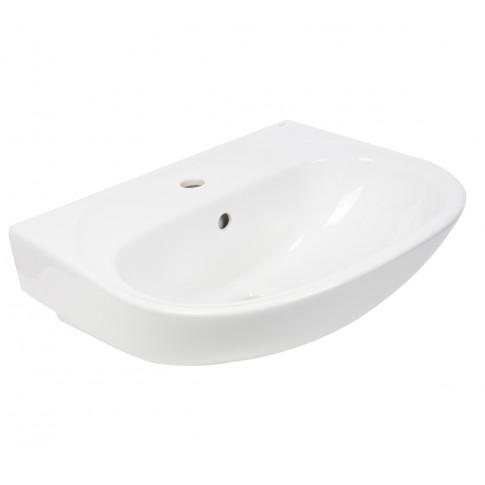 Lavoar Fayans Uno 810UN2Z000001, alb, rotunjit, 55 cm