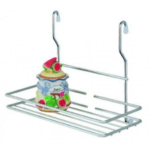 Suport bucatarie, pentru recipiente condimente, 4060, metal, 26 x 14.5 x 21 cm
