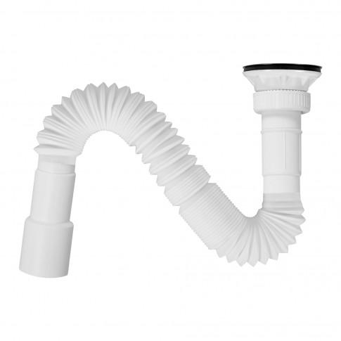 """Jollyflex cu ventil, Eurociere 8056/V, cu sifon, dop, 1""""1/4"""