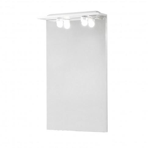 Oglinda baie cu iluminare, Savini Due Rimini 974, 65 x 105 cm