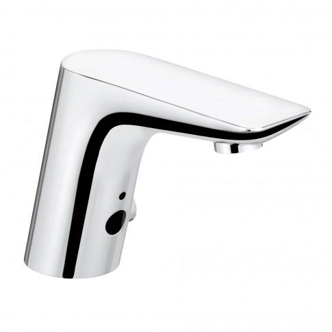 Baterie baie pentru lavoar, cu senzor, Kludi Balance 5210005, montaj stativ, electronica, finisaj cromat