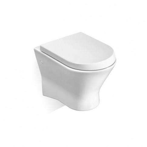 Vas WC suspendat Roca Nexo 346640000, alb, cu evacuare orizontala