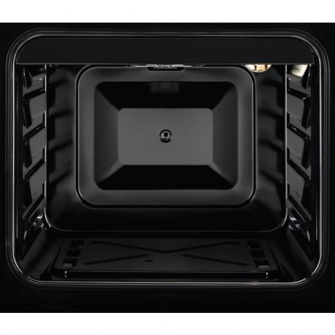 Aragaz pe gaz Zanussi ZCG21071WA / ZCG210U1WA, 4 arzatoare, aprindere electrica, functie Pizza, latime 50 cm, alb