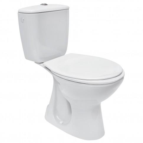 Set vas WC + rezervor + mecanism + capac Cersanit Keops, 36.5 x 75 x 64.5 cm