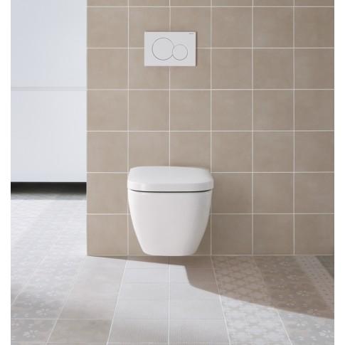 Placa actionare apa WC, Geberit Sigma 01 115770115, finisaj alb