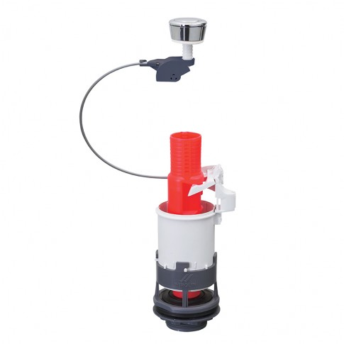 Mecanism WC, actionare prin apasare, Wirquin MD2G-00, fara flotor