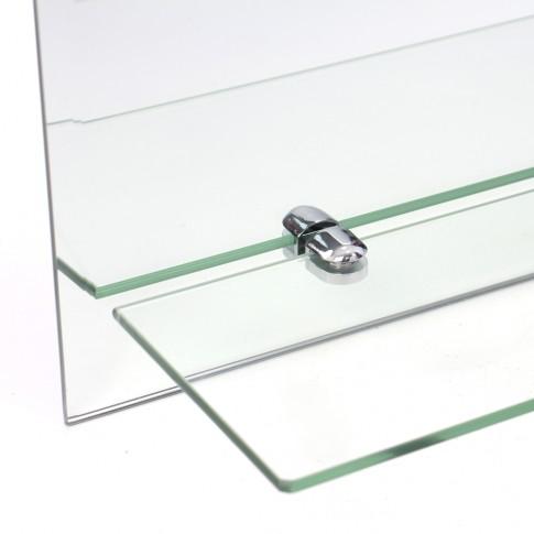 Oglinda baie TEC60SH1, 45 x 60 cm, 1 etajera