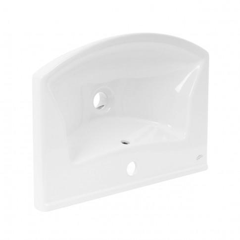 Lavoar Arthema Evita 0055EV - A, alb, rotunjit, 55 cm