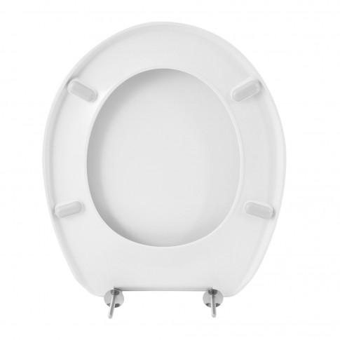 Capac WC din duroplast, Legerino 1110, alb, inchidere standard, 362 x 439.6 mm