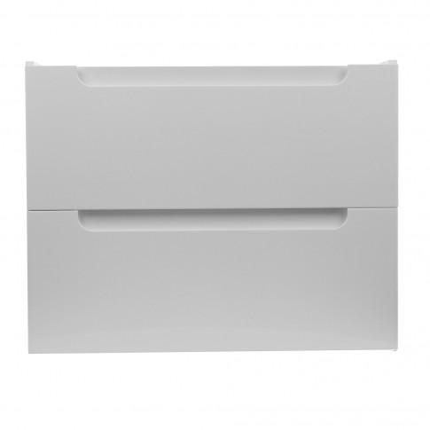 Masca baie pentru lavoar, Arthema Vela 502 - A2, cu sertare, alba, montaj suspendat, 72.5 x 45 x 57 cm
