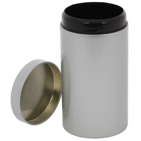Recipient pentru pastrarea alimentelor 402, din metal, 1700 ml, 20 x 11 cm, argintiu