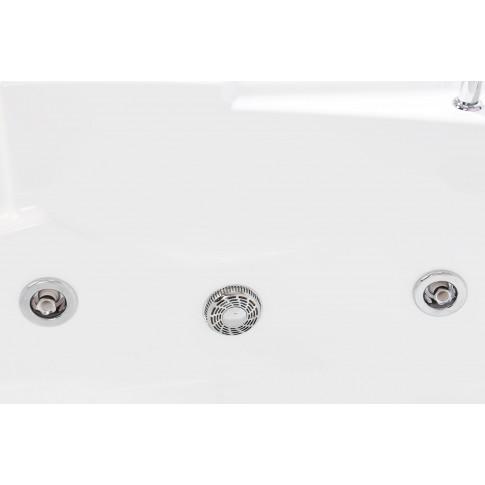 Cada baie cu hidromasaj rectangulara, Martplast Doha, masca frontala si laterala incluse, acril, 170 x 80 cm