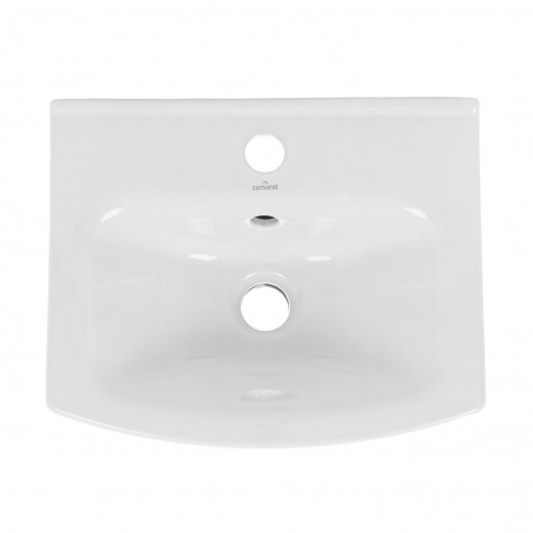 Lavoar Cersanit Cersania K11 - 0050, alb, dreptunghiular, 40 cm