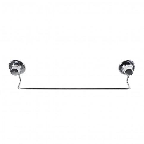 Suport prosop baie DM260, tip bara, montaj cu ventuza, 47 x 10 x 5 cm