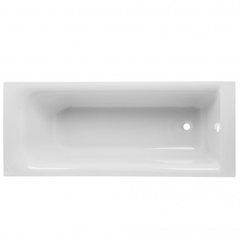 Cada baie rectangulara Kolo Rekord, acril, WP1670 + SN0, 170 x 70 cm