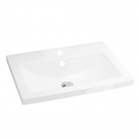 Lavoar Cersanit Como K32 - 003 -BOX, alb, dreptunghiular, 60 cm