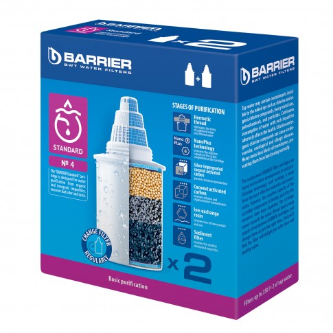Rezerva filtru apa Barrier-4, 2 buc / set