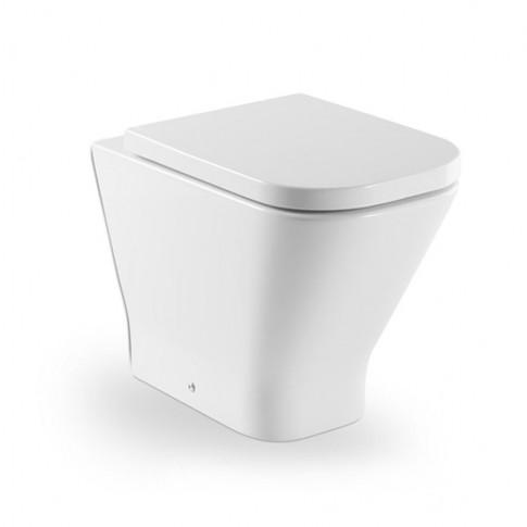 Vas WC Roca The Gap, alb, cu dubla evacuare