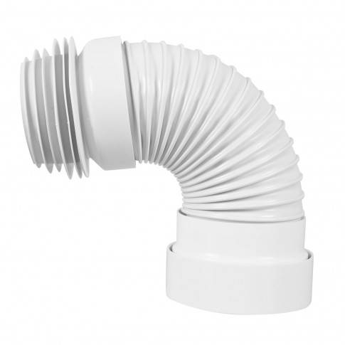 Racord WC extensibil, insertie inox, Eurociere 1224, 220 - 540 mm