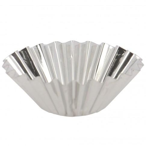 Forma pentru cake cup AB26, set 10 bucati, metal, 8 cm