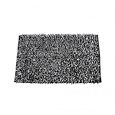 Covoras baie Dream, negru, 55 x 90 cm
