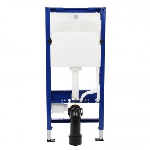 Rezervor WC, incastrat, Geberit Duofix Delta 458.133.21.1, 50 x 112 cm, clapeta de actionare si sistem de fixare incluse