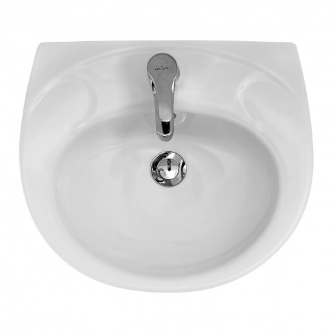 Lavoar Cersanit Roma K07-028, alb, rotunjit, 55 cm