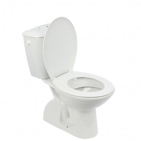 Set vas WC + rezervor + mecanism + capac Roca Canto, 35.5 x 76 x 66.5 cm