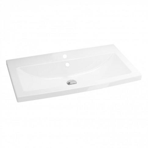 Lavoar Cersanit Como K32 - 004 - BOX, alb, dreptunghiular, 80 cm
