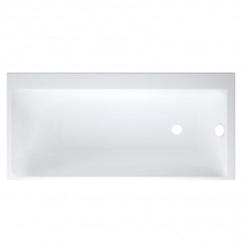 Cada baie rectangulara Cersanit Smart S301-116, acril, montaj pe dreapta, 170 x 80 cm