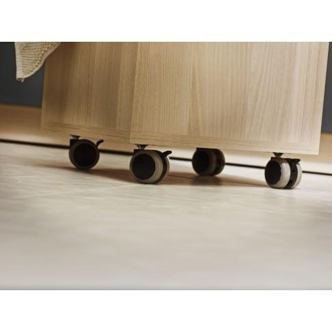 Dulap baie pentru depozitare rufe, Cersanit S568-004, frasin / alb, 65.5 x 35 cm