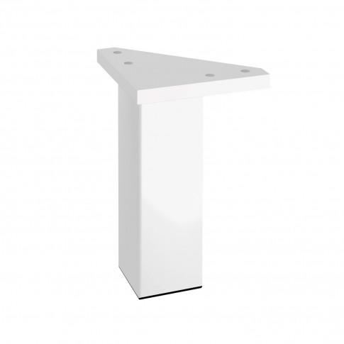 Picioare mobilier baie, Cersanit S599 - 0066, plastic, albe, 120 mm, set 2 bucati