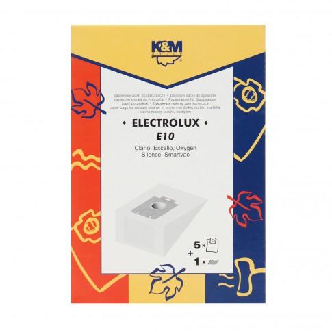 Saci aspirator Electrolux Clario, hartie, pachet 5 bucati
