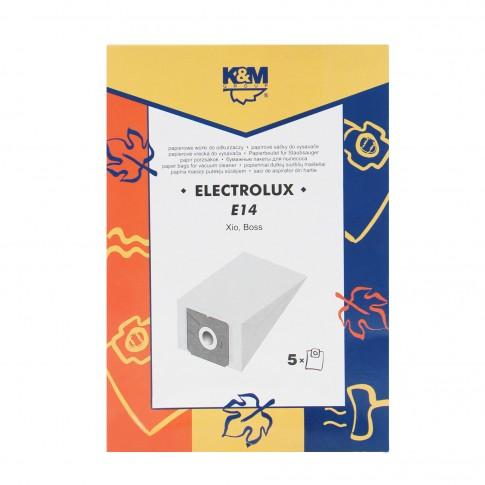 Saci aspirator Electrolux Xio, hartie, pachet 5 bucati