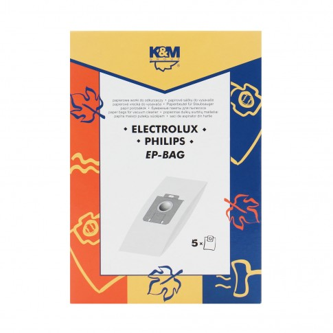 Saci aspirator Electrolux-Philips UNV, hartie, pachet 5 bucati
