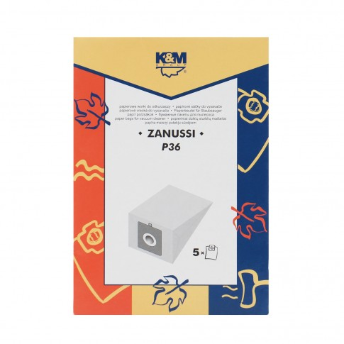Saci aspirator Zanussi 3321/3341, hartie, pachet 5 bucati