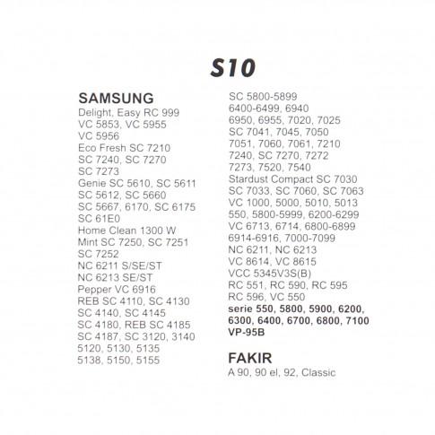 Saci aspirator Samsung VP-95B, hartie, pachet 5 bucati